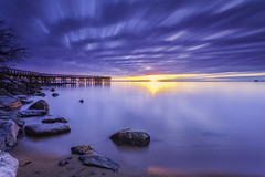 A new dawn (dK.i photography) Tags: downspark pasadena maryland chesapeakebay sunrise dawn newyearsday firstlight firstsunrise 2017 landscape waterscape longexposure chilly horizon pier water beach clouds outdoors hss sliderssunday singhray darylbenson rgnd littlestopper leefilters neutraldensity