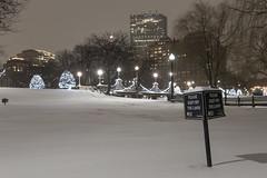 Boston_20170107_012 (falconn67) Tags: boston night snow publicgarden bridge longexposure storm winter newengland sign canon 5dmarkiii 24105l