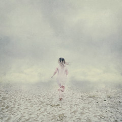 Chasing the dream (Lieke Anna) Tags: dream liekeanna hope chasing fine art creative conceptual selfportrait resolution triptych haunting new year dreaming clouds sky emotive storytelling