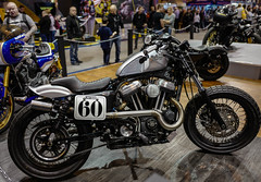 Dirty Blu by Charlie Stockwell/Warr's of London (Mike Turner) Tags: harleydavidson bikeporn leicaqtyp116 sportster warrs 2016 bikerlife flattracker harley sportster883 biker charliestockwell dirtyblu custom warrsoflondon ohlins uk leicaq 60 hog leicaqtype116 nec custombike 883r birmingham sportster883r leica beltdrive custombuilder motorcyclelive vtwin flattrack tracker