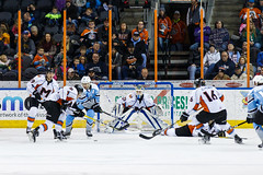 "Missouri Mavericks vs. Alaska Aces, December 17, 2016, Silverstein Eye Centers Arena, Independence, Missouri.  Photo: John Howe / Howe Creative Photography • <a style=""font-size:0.8em;"" href=""http://www.flickr.com/photos/134016632@N02/31639570191/"" target=""_blank"">View on Flickr</a>"