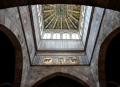 Palermo (Sicilia-Italia). Palacio de los Normandos. Bóved