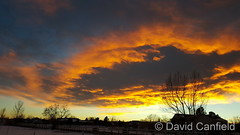 December 19, 2016 - Stunning sunset in Broomfield. (David Canfield)