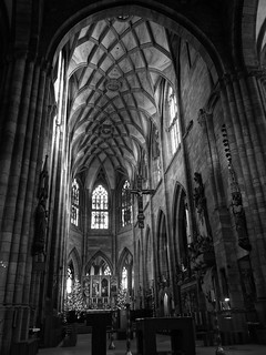 the gothic choir of Freiburg Minster (2)