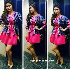 Mouni Roy in Sabah Sharma Pink Skirt (shaf_prince) Tags: actressinpinkdresses actressinskirts celebritydresses designerwear miniskirt mouniroy shortskirtforgirls shortskirtphotos televisionactress womensjacket