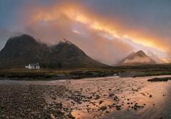 Highlands sunset (www.alexharbige.com) Tags: blue highlands scotland