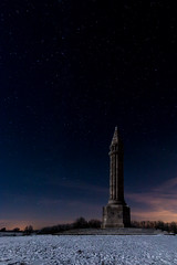 Monument Barrès au clair de lune (David Sch.) Tags: collinedesion favori france lorraine meurtheetmoselle monumentbarres saintois sion