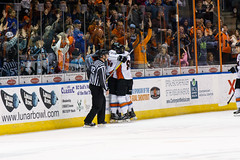 "Missouri Mavericks vs. Wichita Thunder, January 7, 2017, Silverstein Eye Centers Arena, Independence, Missouri.  Photo: John Howe / Howe Creative Photography • <a style=""font-size:0.8em;"" href=""http://www.flickr.com/photos/134016632@N02/32210093986/"" target=""_blank"">View on Flickr</a>"