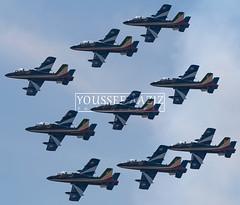 Frecce Tricolori I Alenia Aermacchi MB-339-A/PAN I RAK I IMAS 2016 (Youssef Âaziz Photography) Tags: italyairforce freccetricolori displayteam aviation airshow aerobatic aermacchi aerobaticteam mm54551 mm54517 mm54473 mm55052 mm54505 mm54534 mm55053 mm54518 mm54539 313°gruppoaddestramentoacrobatico italianaeronauticamilitare mb339apan aermacchimb339apan aeronauticamilitare ami marrakechmenaraairport marrakesh marrakechairshow2016 internationalmarrakechairshow kechairport kech kechairshow2016 spotting spotters nikon nikonaviation nikonspotters aviationgeeks avgeeks imas2016 africa africanairshow italianmilitarytrainer lightattackaircraft militaryaircraft militaryaviation militarytrainer militaryjet moroccanspotters advancedtrainer aeronauticamilitareitaliana jet jetaircraft rawphotography rawaviation rak gmmx ishootraw closeup closeupview