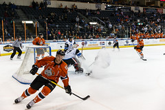 "Missouri Mavericks vs. Wichita Thunder, February 7, 2017, Silverstein Eye Centers Arena, Independence, Missouri.  Photo: John Howe / Howe Creative Photography • <a style=""font-size:0.8em;"" href=""http://www.flickr.com/photos/134016632@N02/32422663750/"" target=""_blank"">View on Flickr</a>"