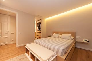 Dormitorio principal - Proyecto Sant Gervasi