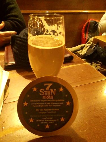 7Stern Bräu, excelente Cerveja de Viena