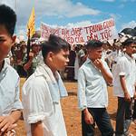 Vietnam War 1966 - North Vietnamese Prisoners at Repatriation Ceremony thumbnail