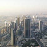 Skyline von Dubai bei Tag