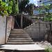 Construcción de escalinata de 16 metros en la Ciudadela Eloy Alfaro
