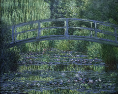 La Pont Japonais a Giverny (Japanese Bridge at Giverny) (Greatest Paka Photography) Tags: bridge light paris france color art history museum painting japanese pond artist waterlilies monet impressionism claudemonet founder dorsaymuseum frenchimpressionism japanesebridgeatgiverny