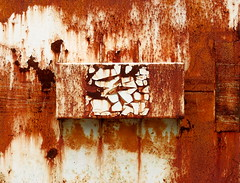 Rust Triptych: Panel #1 (Keith Michael NYC (4 Million+ Views)) Tags: nyc ny newyork statenisland mountloretto mountlorettonorthwoods