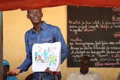 Teacher at Le Salem Schoo (World Bank Photo Collection) Tags: africa guinea safety teacher health prevention worldbank ebola