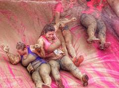 Pretty Muddy in Southampton #prettymuddy (hunter.paul) Tags: charity girls fun cool flickr mud cancer running run southampton muddy prettymuddy