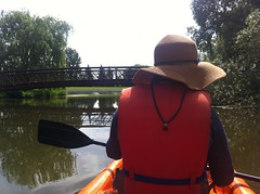 Kayaking on Dow's Lake (ndh) Tags: people ontario canada kayak erin ottawa rideaucanal