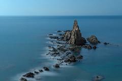 AMP_8898_1 (Amparo Hervella) Tags: longexposure sea españa spain nikon nocturna reef almería arrecife largaexposición arrecifedelassirenas d7000 nikond7000