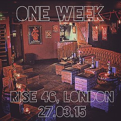 One week to go! See you... (chrisstringermusic) Tags: london gig livemusic ontour booyah musicmatters uktour anthonyjames chrisstringer radiosilence ukmusicscene uploaded:by=flickstagram rise46 instagram:photo=9450301304714223481671094753 radiosilence2015