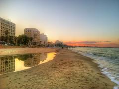 Sunset (Med Azzouz) Tags: blue sea sky sun evening day tunisia tunis sunny clear med sousse tunisie tnez tunesien  tunesi tunezja tunus mostlyclear azzouz mostlysunny tnis  sosah tunisko      tinis tuneija