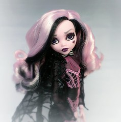 Time was thrown at the wind (ozthegreatandpowerful) Tags: monster high amazon doll adult deluxe daughter dracula le limited edition mh exclusive mattel collector 2015 draculaura