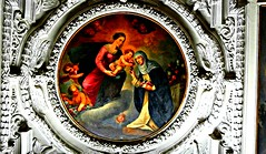 The Dominican Church,Faith Art (Vieparamsberlon.) Tags: vienna wien building art church architecture painting austria photo sterreich europa europe paint christ cathedral god maria dom interior kunst faith mary ghost religion jesus border fine sightseeing mother kirche surreal landmark an canvas holy dome oil historical christianity decor geist mutter der farbe masterpiece christus heilig l schne on gott kuppel historisch malerei wahrzeichen glaube leinwand dekor besichtigung christentum lfarbe meisterstck innere christiangroup geldbuse