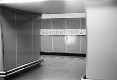 Nrodn Trda (Wechselsack (formerly n95lover)) Tags: prague metro prag sw tmy