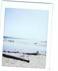 Day 73 - Goulais Bay (CharlotteVivian) Tags: lake ontario canada beach sand outdoor lakesuperior project365 goulaisbay 365dayphotochallenge fujifilminstaxmini8