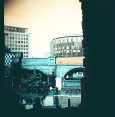 Control everything (BFI IMAX) (tormarie) Tags: london film analog southbank waterloo diana analogue dianaf imax bfi lomochrometurquoise