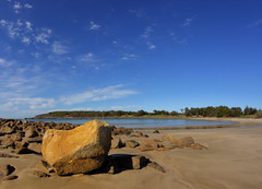 Evolution of Sand. (williams.darrell53) Tags: seascape water rock canon sand williams australia darrell