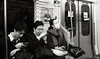 Strangers on a train (DameBoudicca) Tags: tokyo tokio 東京 japan nippon nihon 日本 japón japon giappone shiba 芝 東京都港区 hamamatsuchō hamamatsuchōstation 浜松町駅 浜松町 yamanoteline 山手線 railway järnväg eisenbahn ferrocarril chemindefer ferrovia 鉄道 tåg train zug tren treno 列車 kvinna frau femme woman mujer donna 女 man mann varón homme uomo 男 passenger passagier passagerare pasajero passager passeggero 乗客 student elev schüler pupil alumno élève allievo 学童 児童 生徒 bag mobilephone suit schooluniform