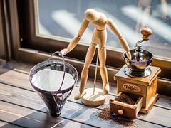 The Morning Routine - Part 4 (MyInkIsMyArt) Tags: skyler king taiwan asia olympus em5ii 45mm coffee morning routine instagram