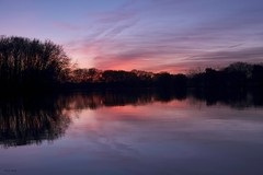 Soir pastel (jpto_55) Tags: soir crepuscule lac lacsoula eau étang paysage xe1 fuji fujifilm hautegaronne france