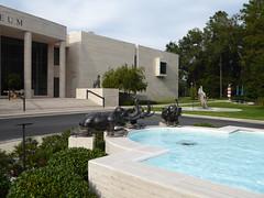Ocala, FL, Appleton Museum of Art, Sculpture Garden (Mary Warren (8.7+ Million Views)) Tags: ocalafl appletonmuseumofart art architecture building museum pool sculpture elephants