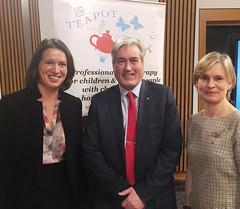 Hosting Teapot Trust parliamentary reception