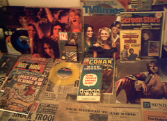 1970's : (Retro King) Tags: 1977 retro 1976 vinyl records albums television books magazines tv comicbooks comics 1975 paperbacks 1971 newspapers 1970s