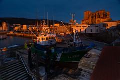 ¿De juguete? (Carpetovetón) Tags: amanecer sunrise puerto castrourdiales cantabria varaderos carrosvaraderos barco pesquero albopuertas mar marcantábrico nikond610 nikon1835 españa