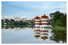 Chinese Garden (deslee74) Tags: singapore sg water leica summicron 50mm pagoda scenery