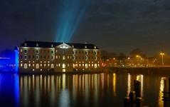 Het Scheepvaartmuseum (Kronemans) Tags: scheepvaartmuseum amsterdam amsterdamcentrum g7 lumix night nightfoto nightphoto nacht nachtfoto