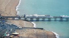 Palace Pier from the i360 (Mark Wordy) Tags: i360 brightonhove britishairways pod viewingplatform eastsussex paddlingpool palacepier beach coast