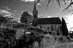 kirche st nicolo (Holgi_BS_63) Tags: südtirol bolzano bozen italy italien altoadige italia caldanro kaltern bw