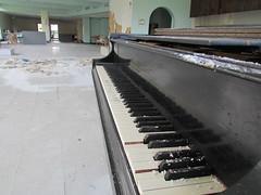 Abandoned Nursing Home Piano (eweinsc1) Tags: abandoned nursing home piano binghamton new york