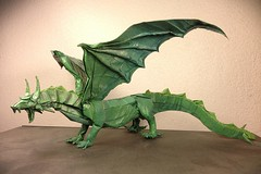 "23 ""Clawsome"" Origami Dragons and Wyverns (Origami.me) Tags: origami papercraft paper craft diy fold folding dragon dragons wyvern wyverns"