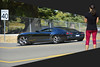 Distorted Point Of View (swong95765) Tags: black camaro chevy perspective elongated woman female lady observation distortion