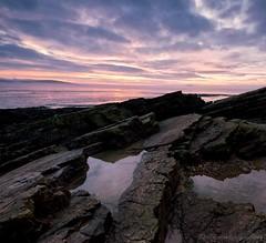Weston-super-Mare sunset (modulationmike) Tags: national geographic magazine sunset rocks sky long exposure nikon coastal wideangle ngm colour ngc