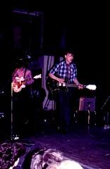 Orange Juice (SteveInLeighton's Photos) Tags: transparency london ektachrome orangejuice northlondonpoly 1982 holloway edwyncollins england february music concert gig guitar olympusom10