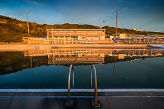 Merewether Ocean-Baths (Trevor Tutt) Tags: merewether merewetherbaths oceanbaths ocean sunrise sky clouds water newcastle newsouthwales morning summer photography trevortutt sony a7r2